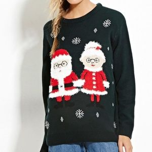Mr and Mrs Claus Ugly Christmas Sweater